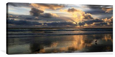 Sunburst Behind the Clouds